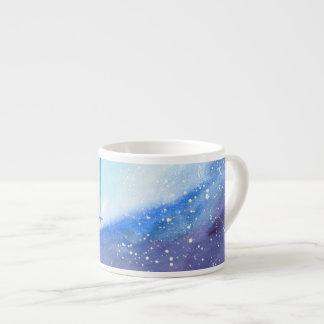 Stargazing Kitty Espresso Mug