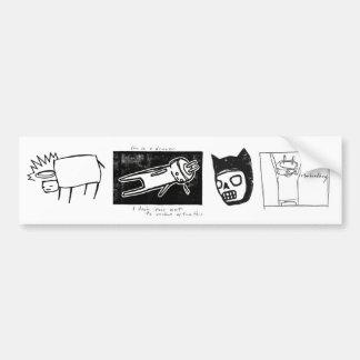 starheadboy bumper sticker