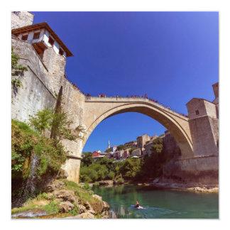 Stari Most, Mostar, Bosnia and Herzegovina Card