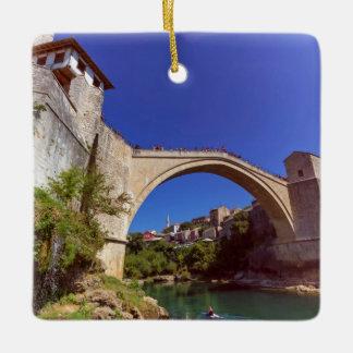 Stari Most, Mostar, Bosnia and Herzegovina Ceramic Ornament