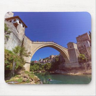 Stari Most, Mostar, Bosnia and Herzegovina Mouse Pad