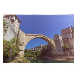 Stari Most, old bridge, Mostar, Bosnia and Herzego Placemat