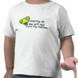 Staring At Me Will Not Cure Me Autism (Alien) Tshirt