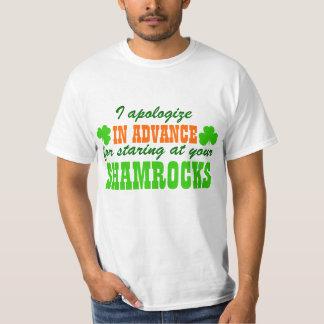 Staring at your Shamrocks T-Shirt
