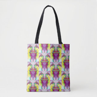 Staring Contest 2 Tote Bag