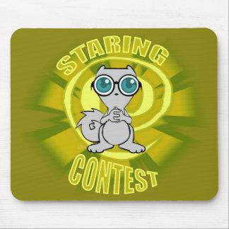 Staring Contest Pilz-E Mousepad