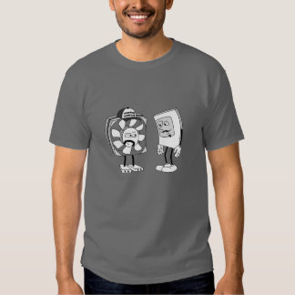 Staring Contest T-Shirt: Gray T-Shirt