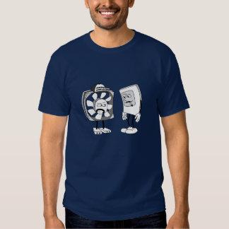 Staring Contest T-Shirt: Navy Blue Tee Shirt