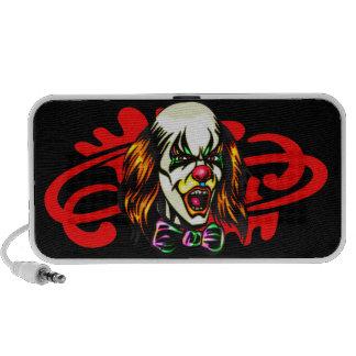 Staring Evil Clown Mp3 Speaker