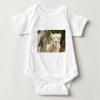Staring Lioness Baby Bodysuit