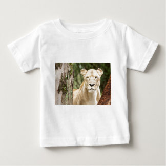 Staring Lioness Baby T-Shirt