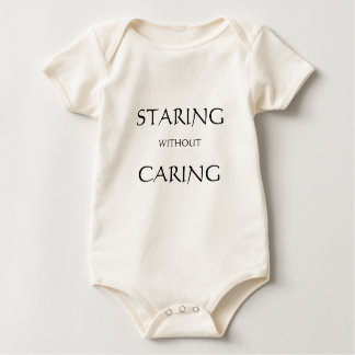 Staring without Caring - baby anthropologist Bodysuit