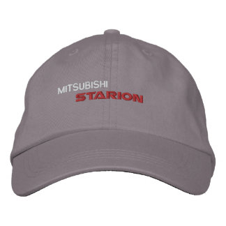 Starion - casquillo del algodón gorras de béisbol bordadas