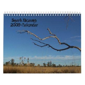 Stark Beauty Calendar calendar