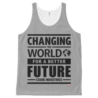 Stark Industries Changing The World All-Over-Print Tank Top