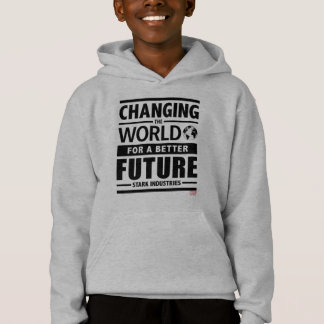 Stark Industries Changing The World Hoodie