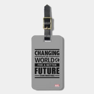 Stark Industries Changing The World Luggage Tag