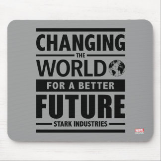 Stark Industries Changing The World Mouse Pad