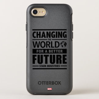 Stark Industries Changing The World OtterBox Symmetry iPhone 7 Case
