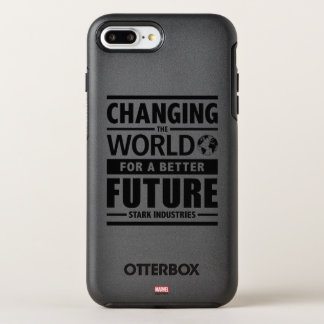 Stark Industries Changing The World OtterBox Symmetry iPhone 8 Plus/7 Plus Case