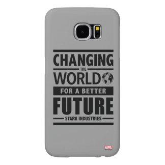 Stark Industries Changing The World Samsung Galaxy S6 Case