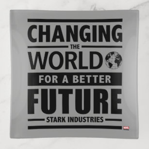 Stark industries home furnishings accessories zazzle stark industries changing the world trinket trays colourmoves