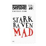 Stark Raven Mad Stamp