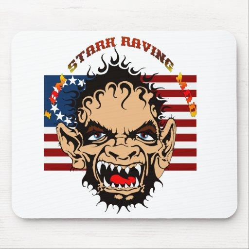 Stark-Raving-Mad-set-1 Alfombrilla De Ratón