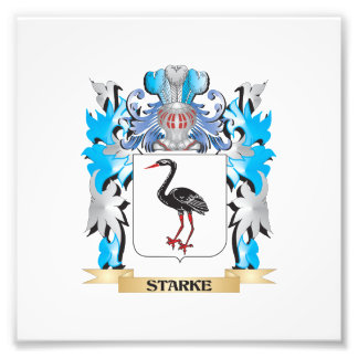 Starke Coat of Arms - Family Crest Photograph