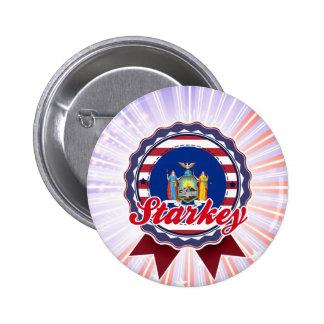 Starkey, NY Pinback Button
