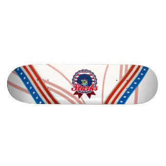 Starks, ME Skateboard Deck