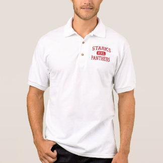 Starks - Panthers - High School - Starks Louisiana Polo Shirts