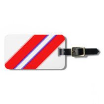 Starless Stripe Luggage Tag