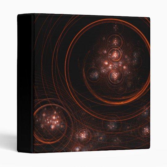 Starlight Abstract Art Binder