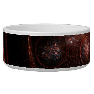 Starlight Abstract Art Dog Bowl