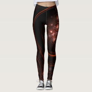 Starlight Abstract Art Leggings