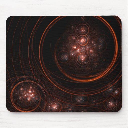 Starlight Abstract Art Mousepad