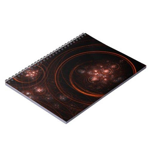Starlight Abstract Art Notebook
