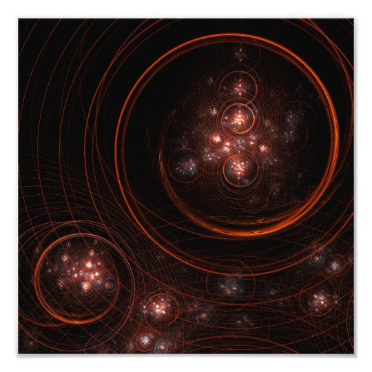 Starlight Abstract Art Photo Print