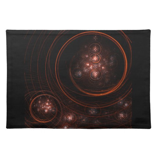 Starlight Abstract Art Placemat