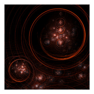 Starlight Abstract Art Print
