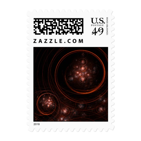 Starlight Abstract Postage Stamp