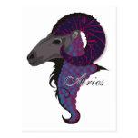 Starlight Aries Postcards
