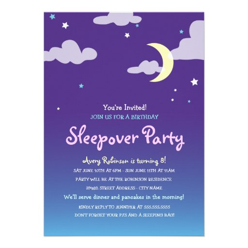 Slumber Party Invitation Wording is an amazing ideas you had to choose for invitation design