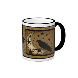 Starlight Crow Primitive Mug