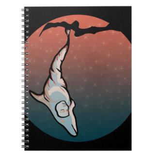 starlight dolphin cocoon notebook