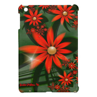 Starlight Flowers iPad Mini Cover