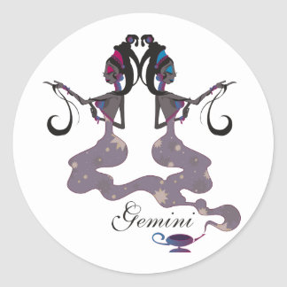 Starlight Gemini Stickers