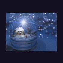 Starlight Globe Christmas Doormat