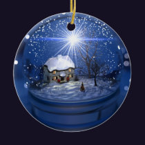 Starlight Globe Christmas Ornament